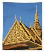 Royal Palace 13  Fleece Blanket
