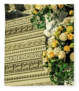 Royal Palace Shrine 04  Fleece Blanket