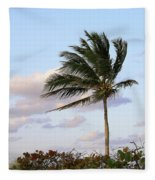 Royal Palm Tree Fleece Blanket