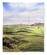 Royal Troon Golf Course Fleece Blanket