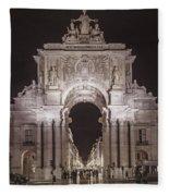 Rua Agusta Arch Lisbon Textured II Fleece Blanket