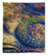 Rubber Fish Fleece Blanket