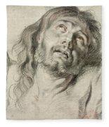 Rubens, Christ.  Fleece Blanket