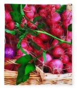 Rubies Organic Fleece Blanket