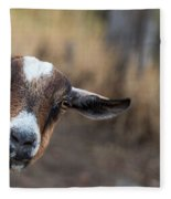 Ruby The Goat Fleece Blanket