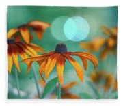 Rudbeckia Fleece Blanket