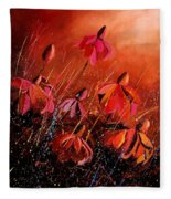 Rudbeckia's 45 Fleece Blanket