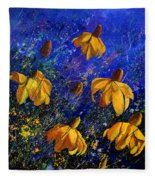 Rudbeckia's Fleece Blanket