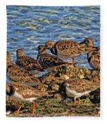 Ruddy's At The Beach Fleece Blanket
