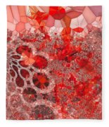 Rudolf Fleece Blanket