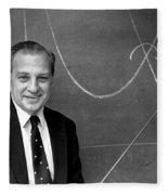 Rudolph Marcus, American Chemist Fleece Blanket