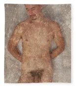 Rudy G. 2-1 Fleece Blanket