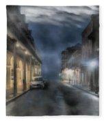 Rue Brumeuse Fleece Blanket