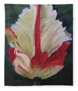 Ruffled Tulip  Fleece Blanket