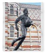 Rugby's Founder William Webb Ellis Fleece Blanket
