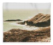 Rugged Rocky Cape Fleece Blanket