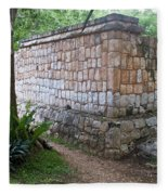 Ruins Chichen Itza 1 Fleece Blanket