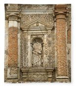 Ruins Of Antigua Guatemala Fleece Blanket
