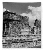 Ruins Of Ek Balan Fleece Blanket