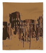 Ruins Of Rome Fleece Blanket