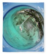 Rum Point Little Planet Fleece Blanket