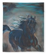 Run Horse Run Fleece Blanket