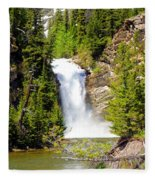Running Eagle Falls Fleece Blanket