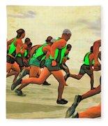 Running Start Fleece Blanket