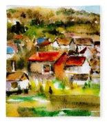 Rural City Fleece Blanket