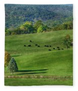 Rural Life Fleece Blanket