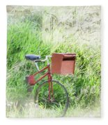 Rural Mailbox Fleece Blanket