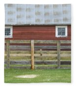 Rural Patterns Fleece Blanket