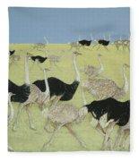 Rush Hour Fleece Blanket