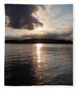 Rush Lake  Fleece Blanket