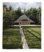 Russell-colbath Historic Homestead - White Mountains Nh Fleece Blanket