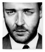 Russell Crowe  Fleece Blanket