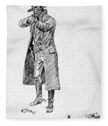 Russell: Stage Robber Fleece Blanket