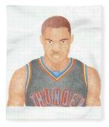 Russell Westbrook  Fleece Blanket