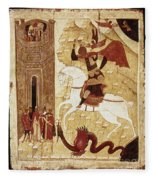 Russia: Icon Fleece Blanket