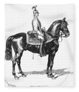 Russian Chevalier Guard Fleece Blanket