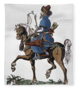 Russian Horseman, C1577 Fleece Blanket