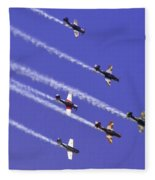 Russian Roolettes And Blue Sky Fleece Blanket