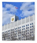Russian White House Fleece Blanket