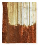 Rust 01 Fleece Blanket