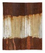 Rust 04 Fleece Blanket