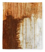 Rust 05 Fleece Blanket