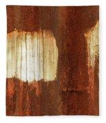 Rust 06 Fleece Blanket