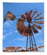 Rust Age Fleece Blanket
