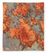 Rust Art Fleece Blanket