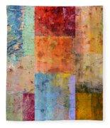 Rust Study 2.0 Fleece Blanket
